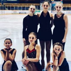 Six Bracebridge Star Skaters
